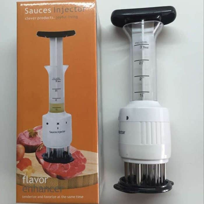 Meat Hammer Tenderizer and Injector
